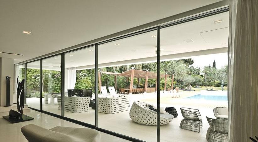 Double-glazed Sliding Windows to your beautiful Pent-House